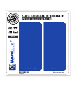 Incognito - Français | Autocollant plaque immatriculation