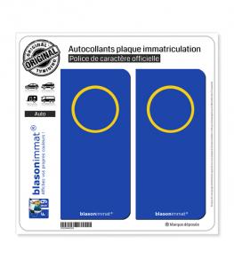 Incognito - Italien  | Autocollant plaque immatriculation