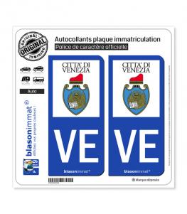 VE Venise - Città | Autocollant plaque immatriculation