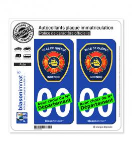 Québec - SPCI | Autocollant plaque immatriculation