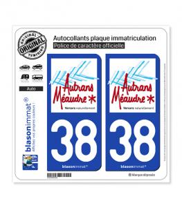 38 Autrans-Méaudre-en-Vercors - Tourisme | Autocollant plaque immatriculation