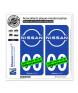 Nissan | Autocollant plaque immatriculation