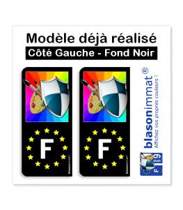 Modèle déjà réalisé - Côté Gauche Fond Noir