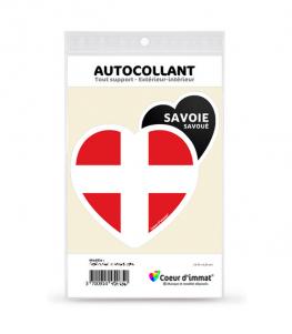 Savoie - Blason | Autocollant Coeur j'aime