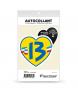 Bouches-du-Rhône - Le 13 | Autocollant Coeur j'aime