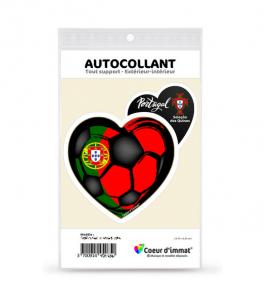 Portugal - Seleção das Quinas | Autocollant Coeur j'aime