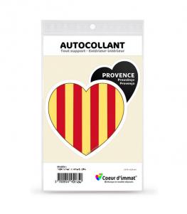 Provence - Blason | Autocollant Coeur j'aime