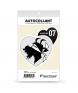 Ardèche - Authentique | Autocollant Coeur j'aime (noir)
