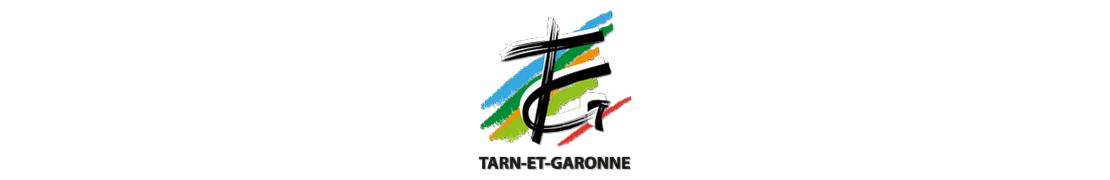 82 Tarn-et-Garonne - Autocollant plaque immatriculation