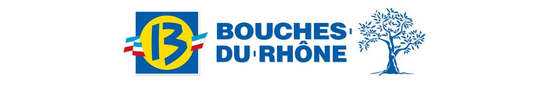 13 Bouches-du-Rhône - Autocollants d'immatriculation