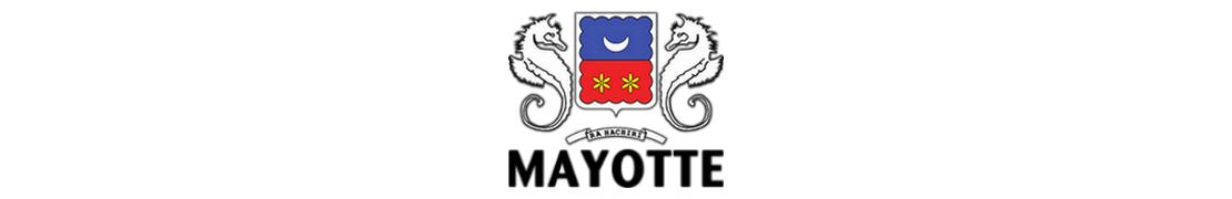 976 Mayotte - Autocollants & plaques d'immatriculation