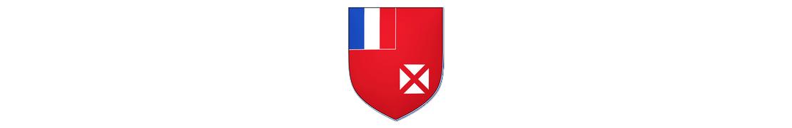 986 Wallis et Futuna - Autocollants d'immatriculation