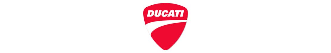 Ducati - Autocollant plaque immatriculation