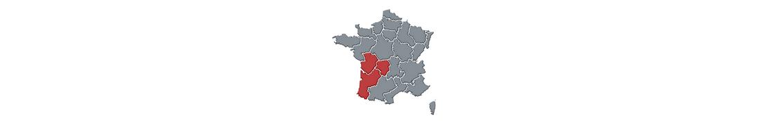 Multi Nouvelle-Aquitaine - Autocollants immatriculation