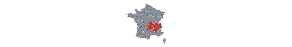 Multi Auvergne-Rhône-Alpes - Plaques d'immatriculation