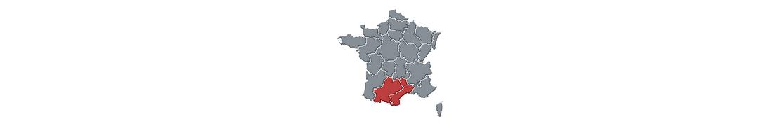 Multi Occitanie - Autocollant & plaque immatriculation