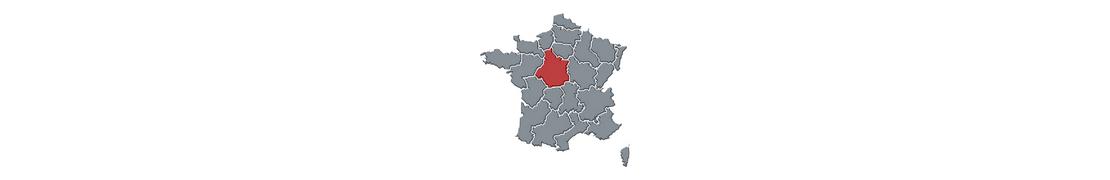 Multi Centre-Val de Loire - Autocollant immatriculation