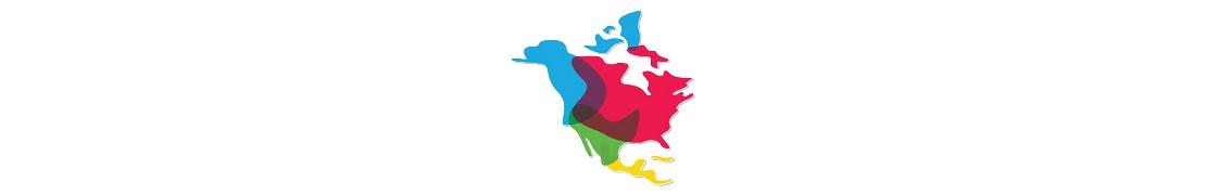 Amérique du Nord - Autocollants plaques immatriculation
