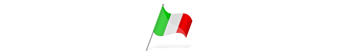 Italie - Autocollants & plaques d'immatriculation