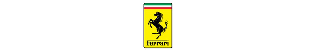 Ferrari - Autocollant plaque immatriculation