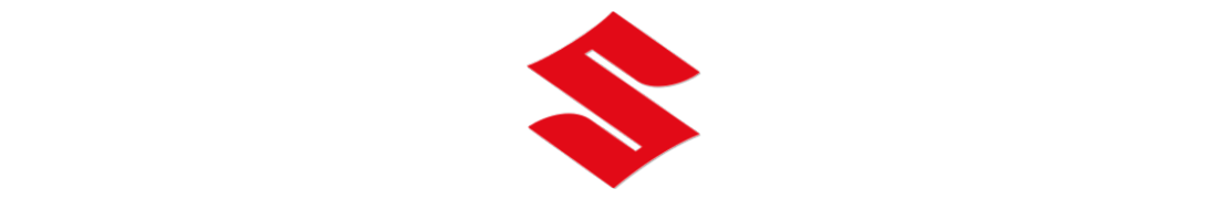 Suzuki (Moto) - Autocollant plaque immatriculation