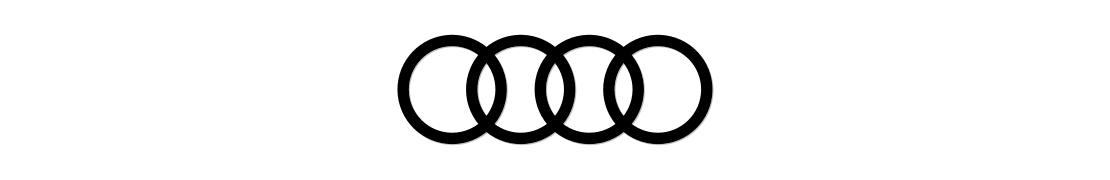 Audi - Autocollant plaque immatriculation