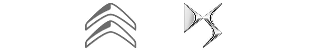 Citroën DS - Autocollant plaque immatriculation