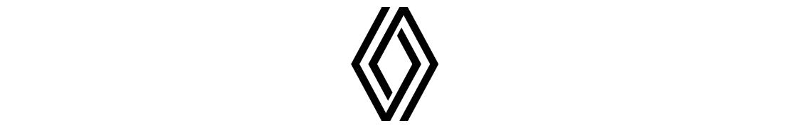 Renault - Autocollant plaque immatriculation