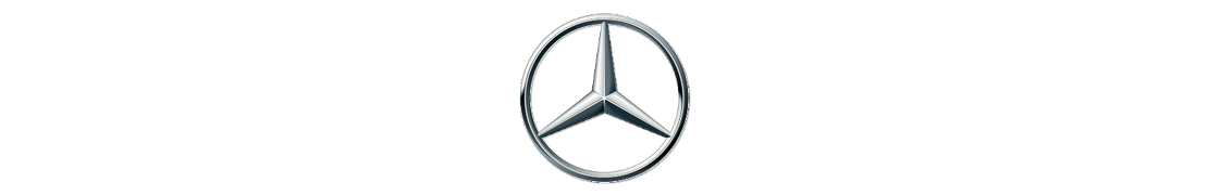 Mercedes-Benz - Autocollant plaque immatriculation
