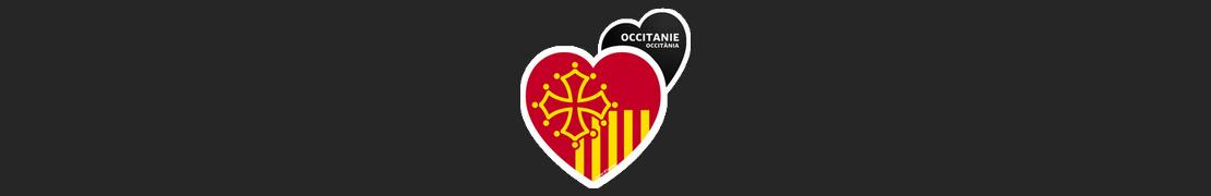 Coeur d'immat™ Occitanie - Stikers autocollants Coeur j'aime