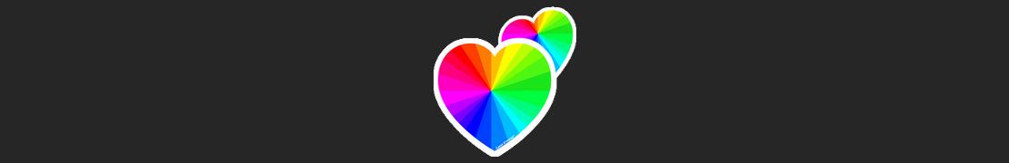 Coeur d'immat™ Éditions Dédiées - Stikers autocollants Coeur j'aime