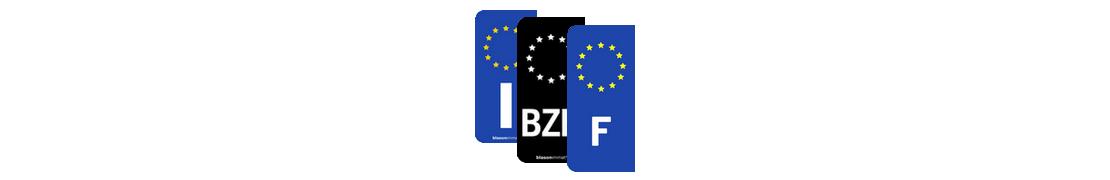 Identifiants Européen - Autocollants d'immatriculation