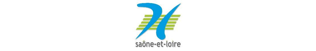 71 Saône-et-Loire - Autocollants Plaque immatriculation