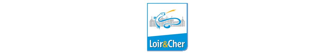 41 Loir-et-Cher - Autocollants & Plaque immatriculation