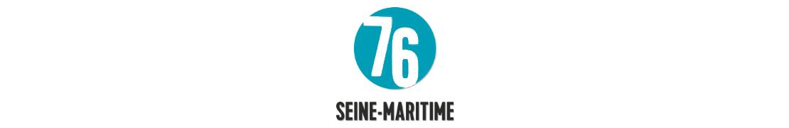 76 Seine-Maritime - Autocollants & plaques d'immatriculation