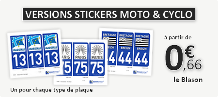 Versions Stickers Moto and Cyclo Stickers